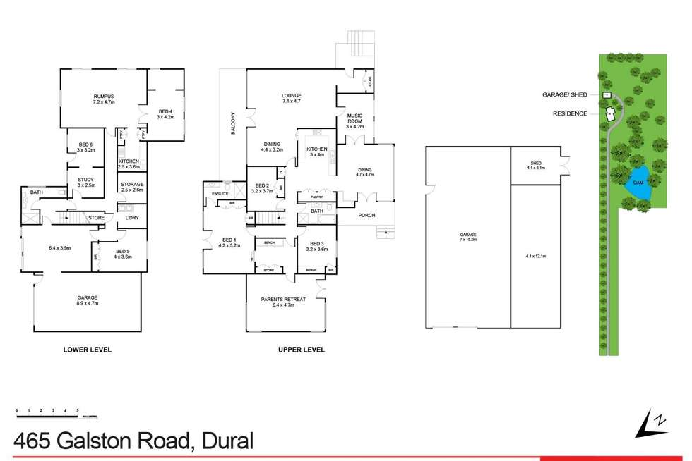 Floorplan of Homely house listing, 465 Galston Road, Dural NSW 2158