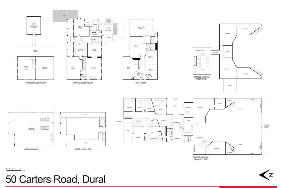 Floorplan of Homely house listing, 50 Carters Road, Dural NSW 2158