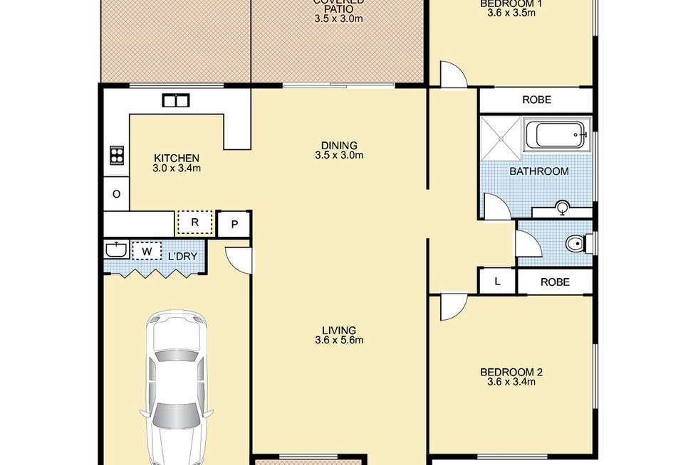 Floorplan of Homely retirement listing, 4/75 Caloundra Road, Little Mountain QLD 4551