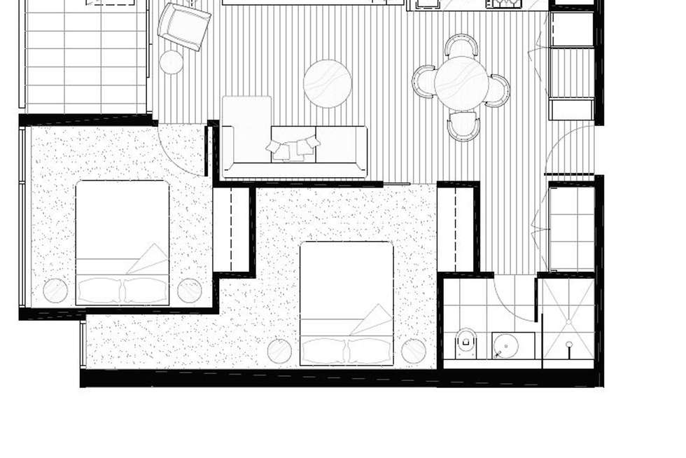 Floorplan of Homely apartment listing, 729/23 Blackwood Street, North Melbourne VIC 3051