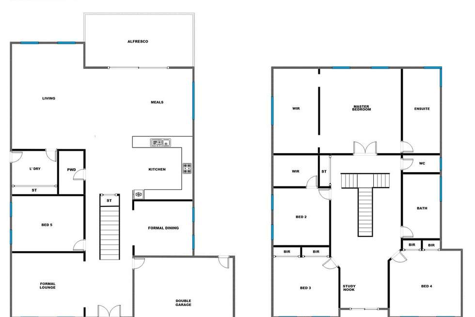 Floorplan of Homely house listing, 33 Stillwell Crescent, Roxburgh Park VIC 3064