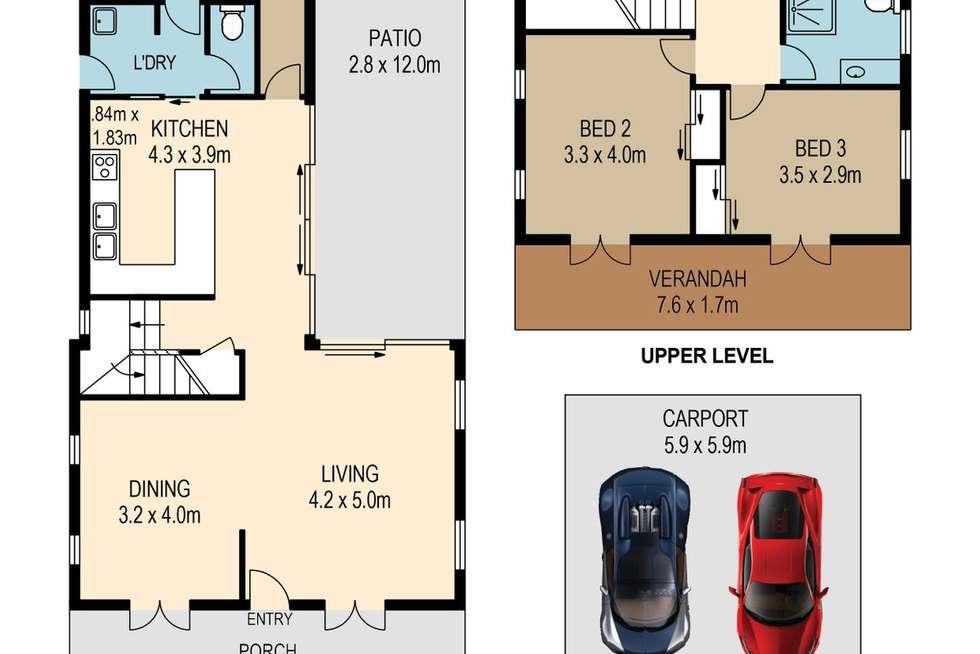 Floorplan of Homely house listing, 123 Honour Avenue, Chelmer QLD 4068
