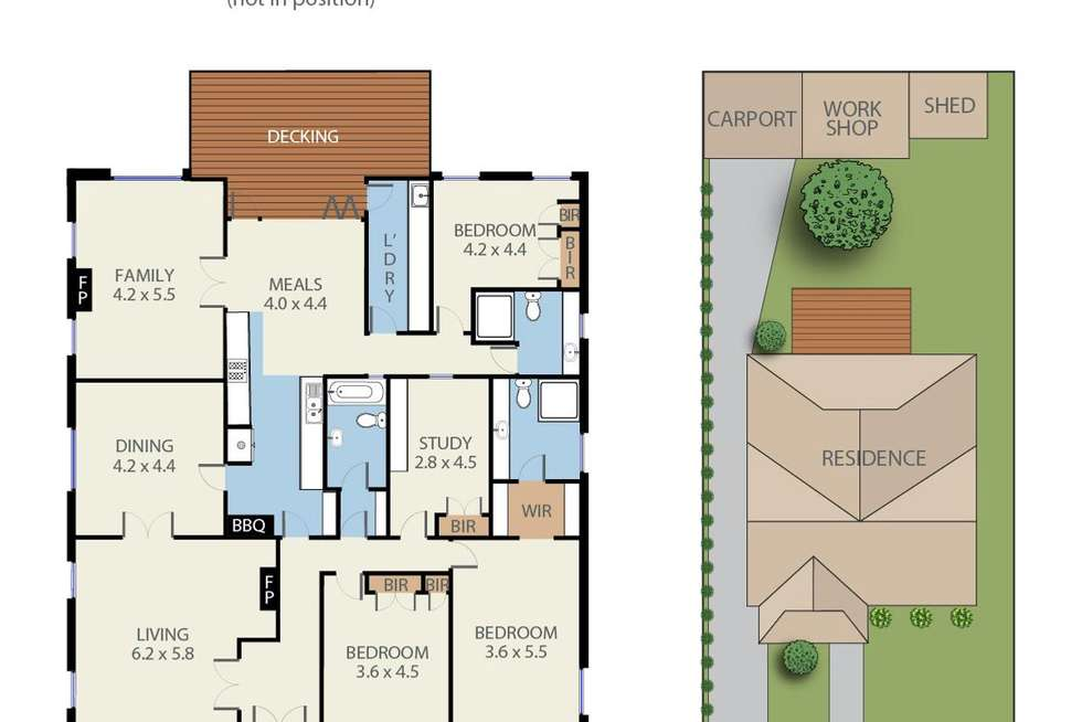Floorplan of Homely house listing, 54 Highfield Road, Canterbury VIC 3126