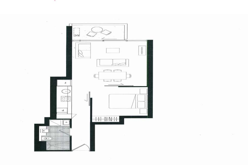 Floorplan of Homely apartment listing, Level26/231 Harbour Esplanade, Docklands VIC 3008