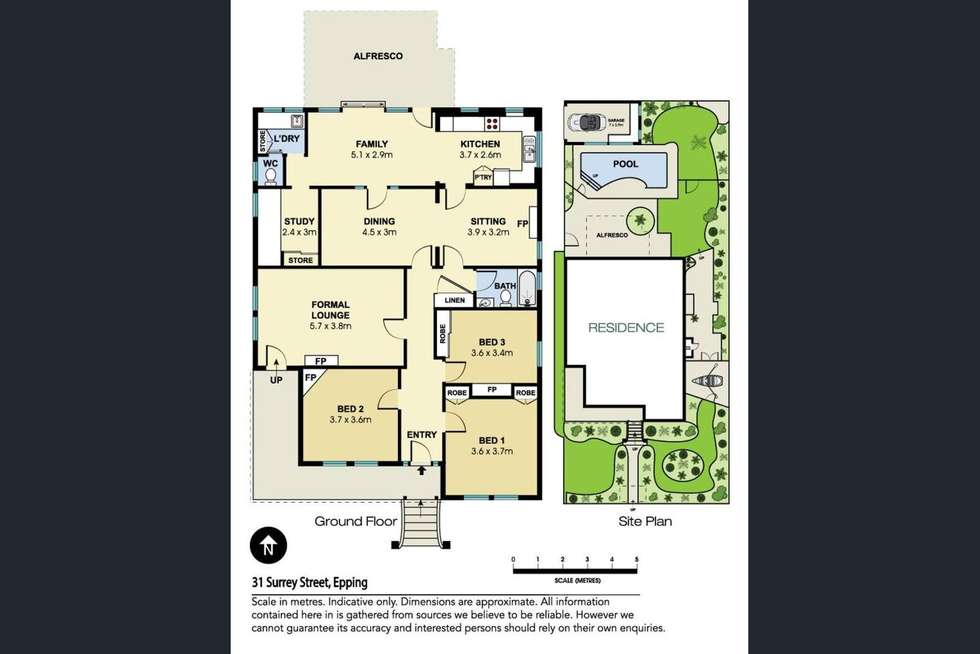 Floorplan of Homely house listing, 31 Surrey Street, Epping NSW 2121