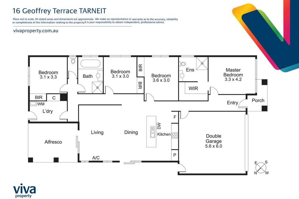 Floorplan of Homely house listing, 16 Geoffrey Terrace, Tarneit VIC 3029