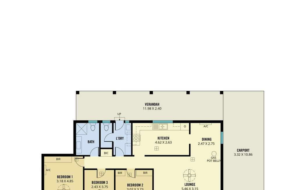 Floorplan of Homely house listing, 49 Penong Avenue, Camden Park SA 5038