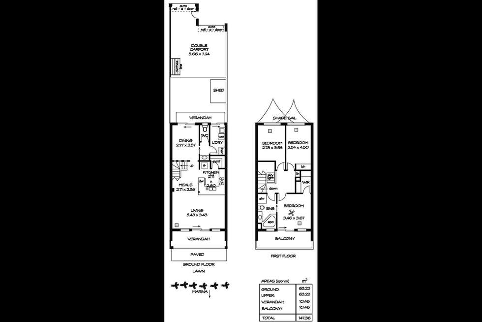Floorplan of Homely house listing, 129 One and All Drive, North Haven SA 5018