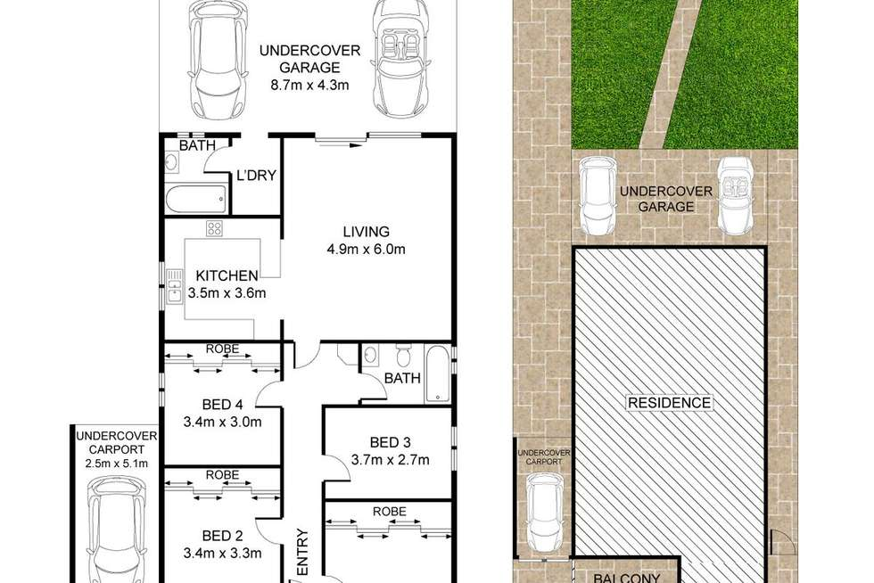 Floorplan of Homely house listing, 21 Union Road, Auburn NSW 2144