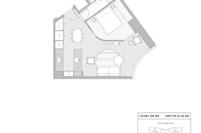 Leased Apartment 4111 224 La Trobe Street Melbourne Vic 3000 Dec 3 2020 Homely