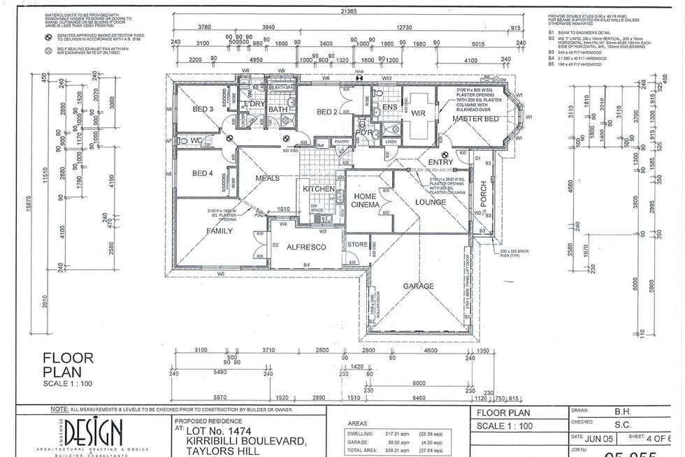 Floorplan of Homely house listing, 20 Kirribilli Boulevard, Taylors Hill VIC 3037