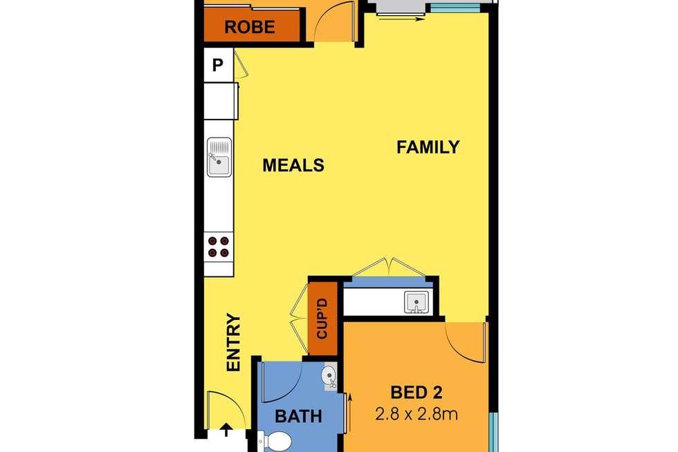 Floorplan of Homely apartment listing, 119/436-442 Huntingdale Road, Mount Waverley VIC 3149