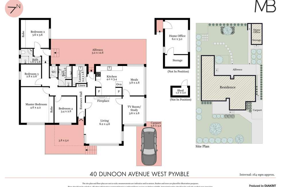 Floorplan of Homely house listing, 40 Dunoon Avenue, West Pymble NSW 2073