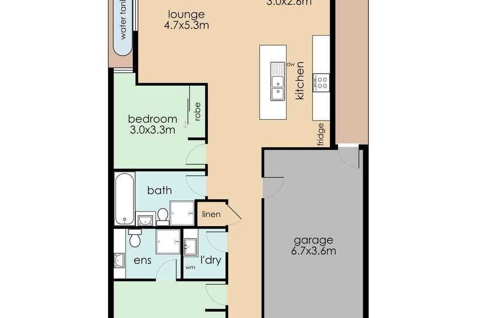 Floorplan of Homely house listing, 21 Kate Avenue, Hampton Park VIC 3976