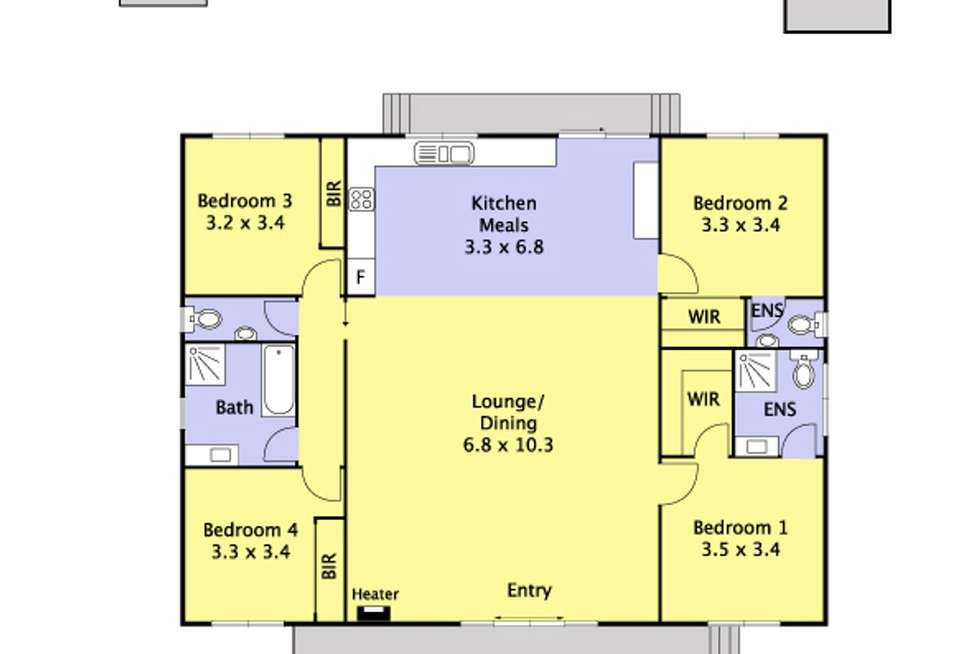 Floorplan of Homely house listing, 24a Neville Street, Cockatoo VIC 3781