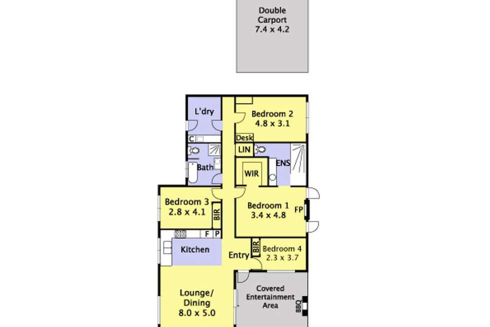 Floorplan of Homely house listing, 11 Alexander Road, Cockatoo VIC 3781