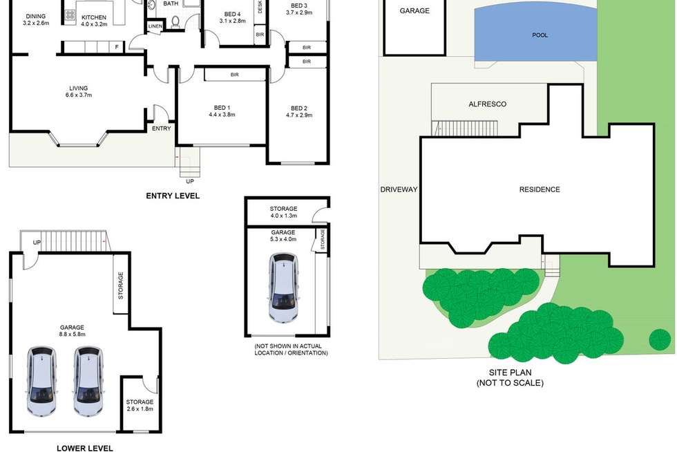 Floorplan of Homely house listing, 34 Tergur Crescent, Caringbah NSW 2229