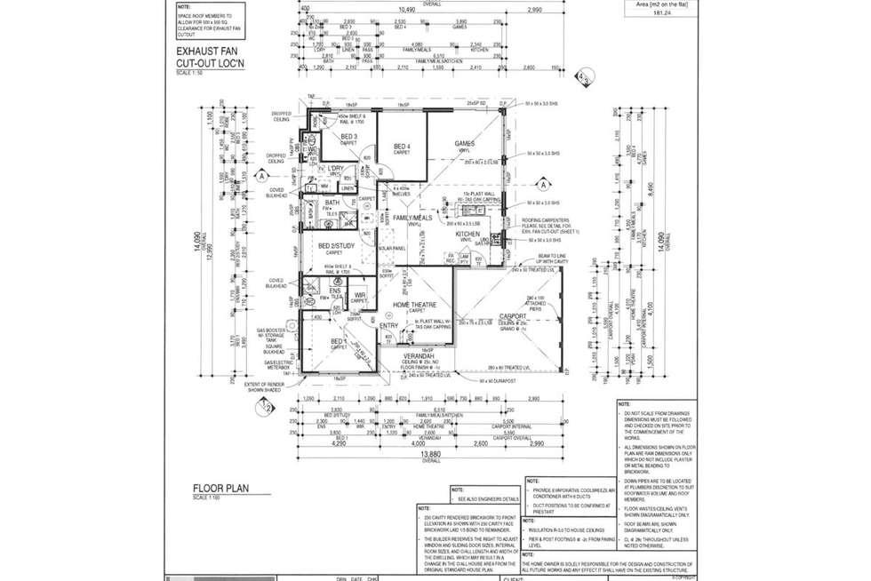 Floorplan of Homely house listing, 45 Brittain Road, Wattle Grove WA 6107