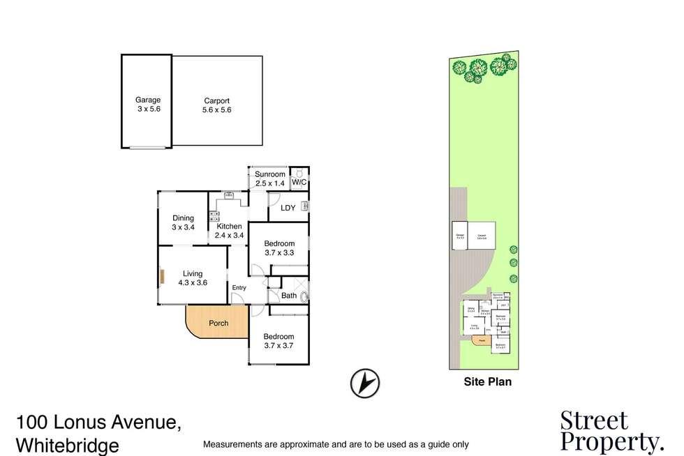 Floorplan of Homely house listing, 100 Lonus Avenue, Whitebridge NSW 2290