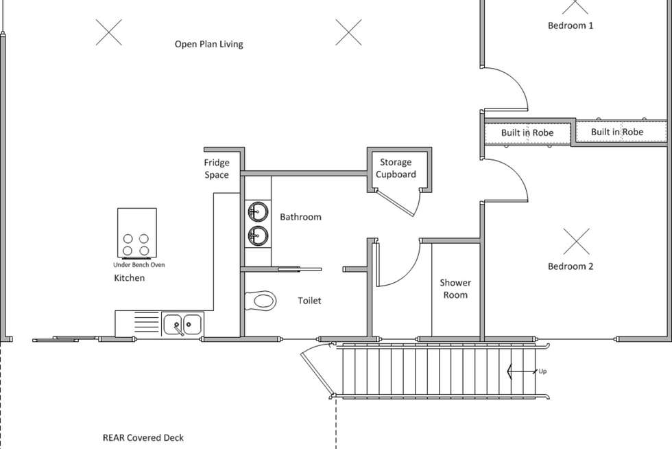 Floorplan of Homely house listing, 5 Marion Street, Sultana Point SA 5583