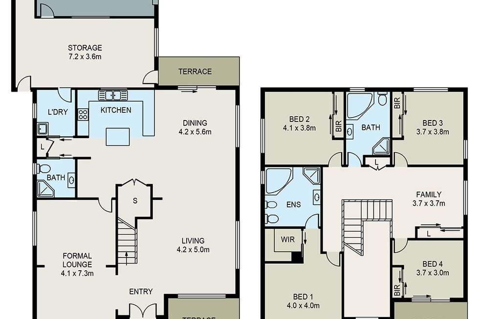 Floorplan of Homely house listing, 17 Matthew Street, Merrylands NSW 2160