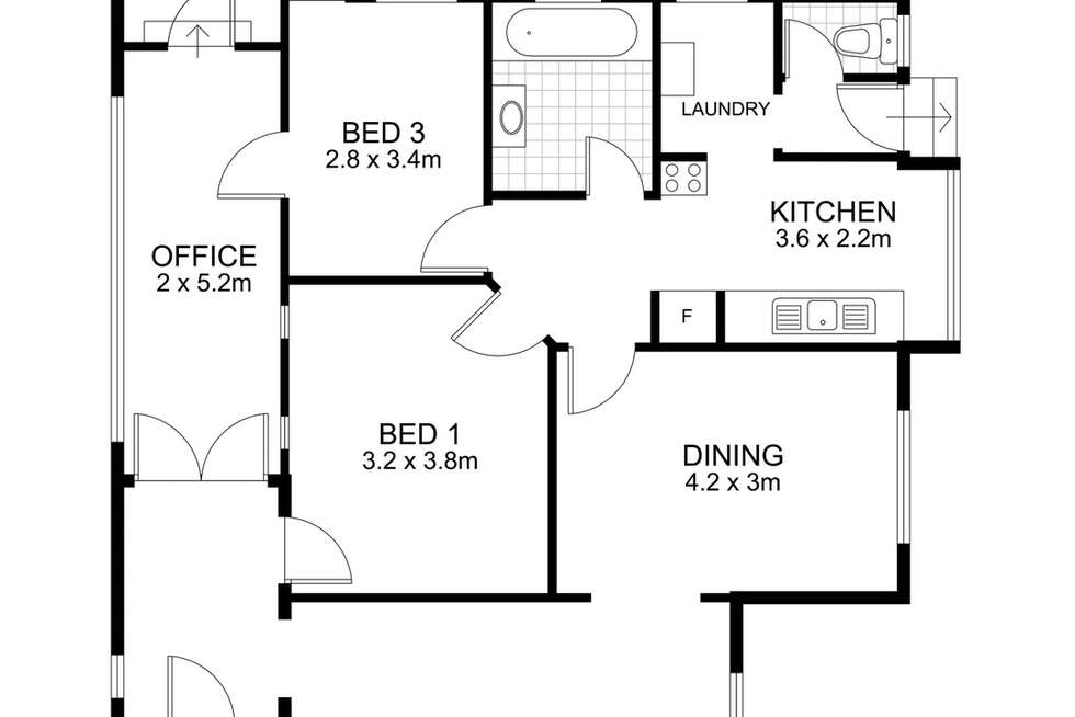 Floorplan of Homely house listing, 10 Gray Street, Newmarket QLD 4051