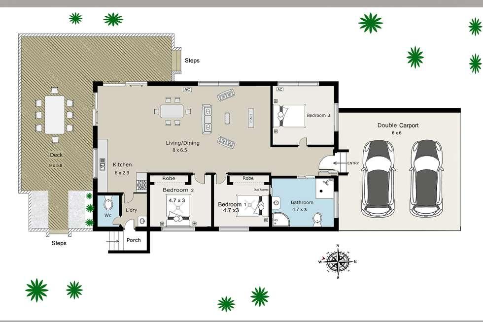 Floorplan of Homely house listing, 187 Blunder Road, Durack QLD 4077
