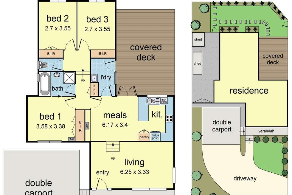 Floorplan of Homely house listing, 131 Belmont Road East, Croydon South VIC 3136