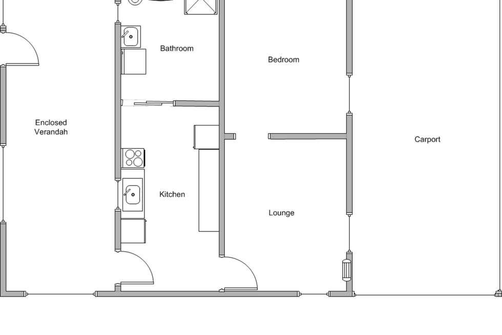 Floorplan of Homely house listing, 6 Mary Street, Edithburgh SA 5583