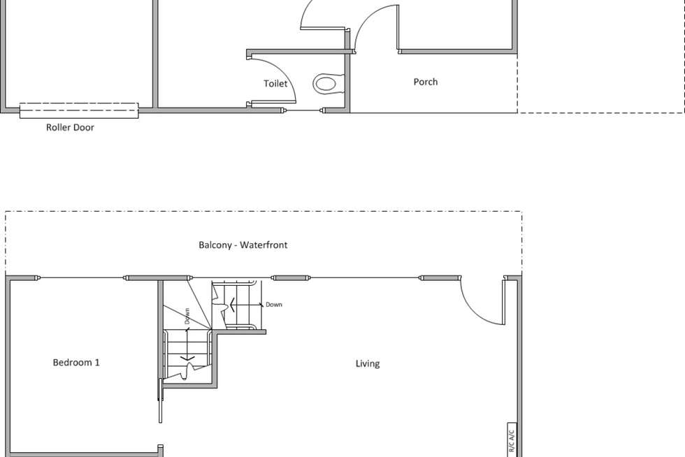 Floorplan of Homely house listing, 80 Beach Road, Coobowie SA 5583