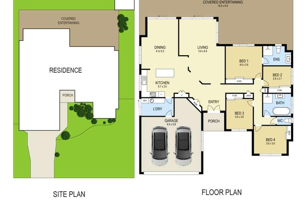 Floorplan of Homely house listing, 20 Wirreander Street, Medowie NSW 2318