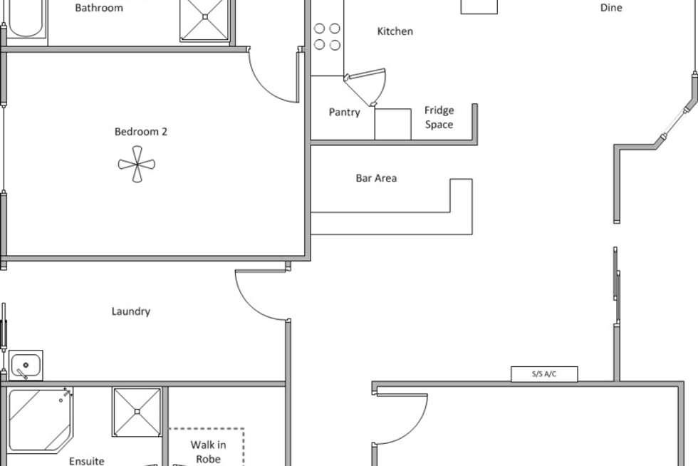 Floorplan of Homely house listing, 22 Compass Road, Edithburgh SA 5583