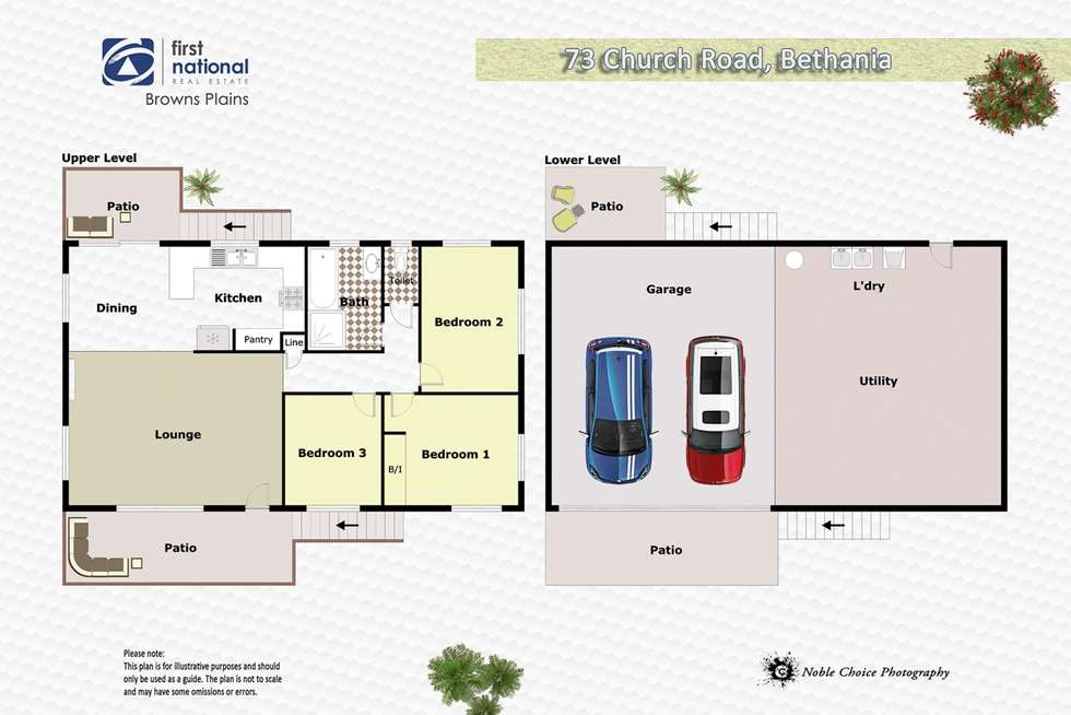 Floorplan of Homely house listing, 73 Church Road, Bethania QLD 4205