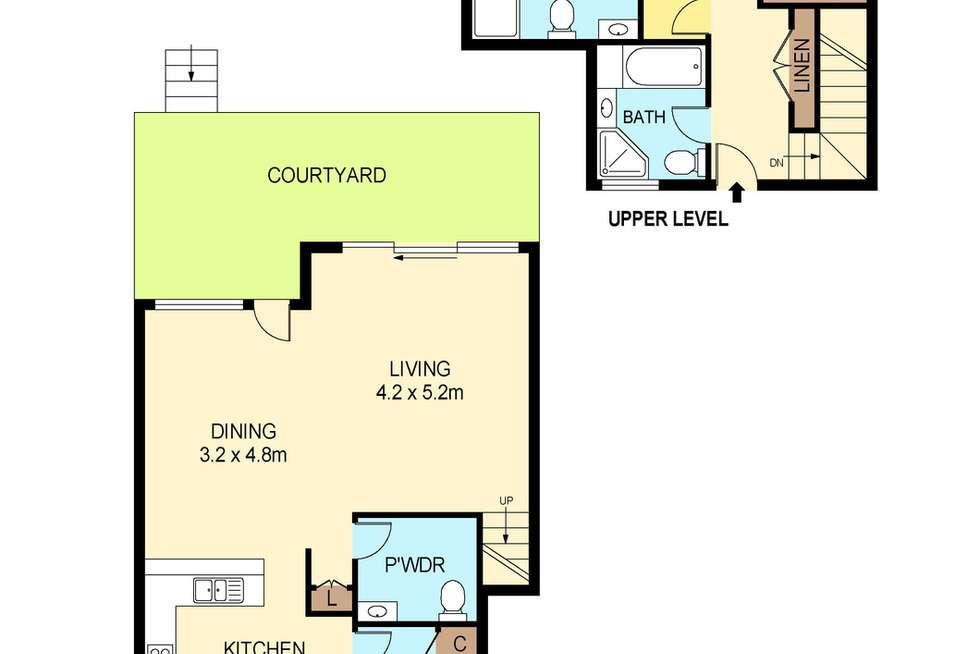 Floorplan of Homely apartment listing, 3/92 John Whiteway Drive, Gosford NSW 2250
