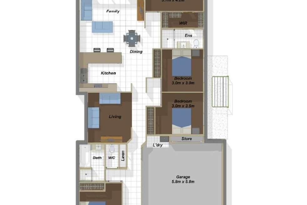 Floorplan of Homely house listing, 18 Greenwich Avenue, Pimpama QLD 4209