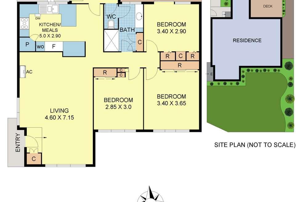 Floorplan of Homely house listing, 40 Homer Avenue, Croydon South VIC 3136