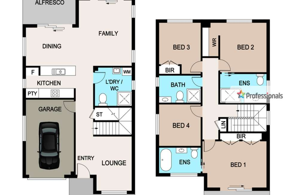 Floorplan of Homely house listing, 9 Panton Street, Rouse Hill NSW 2155