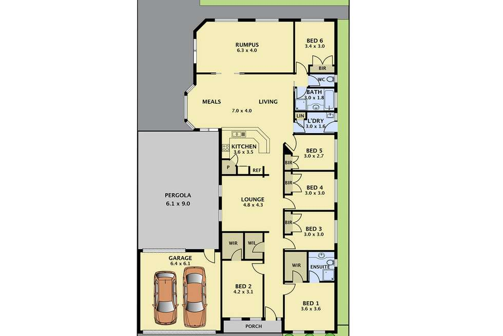 Floorplan of Homely house listing, 9 Belsay Place, Craigieburn VIC 3064