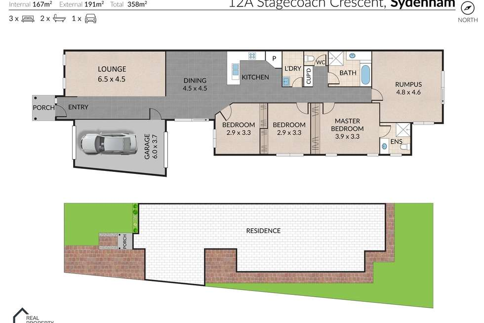 Floorplan of Homely house listing, 12a Stagecoach Crescent, Sydenham VIC 3037