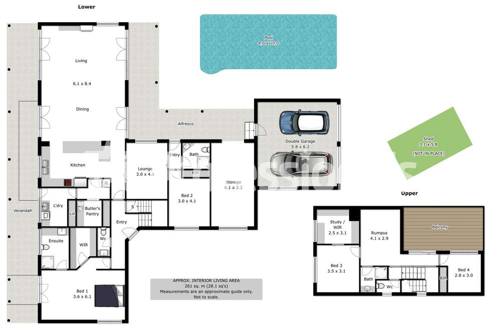 Floorplan of Homely house listing, 2 Uralla Court, Wodonga VIC 3690