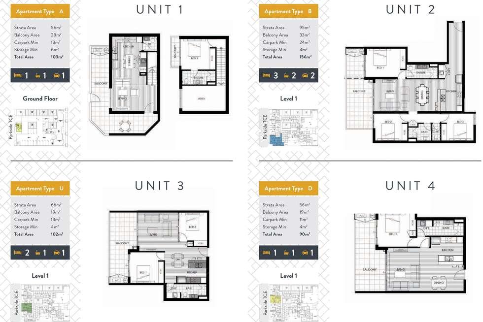 Floorplan of Homely apartment listing, 888 Burswood Road, Burswood WA 6100