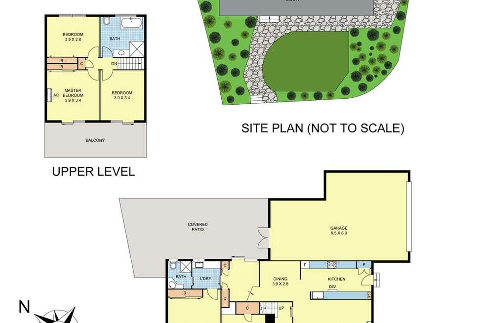 Floorplan of Homely house listing, 24 Edward Road, Chirnside Park VIC 3116