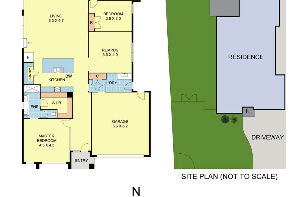 Floorplan of Homely house listing, 68 Station Street, Coldstream VIC 3770