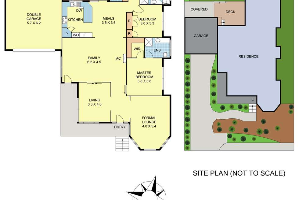 Floorplan of Homely house listing, 16 Clearwater Drive, Lilydale VIC 3140