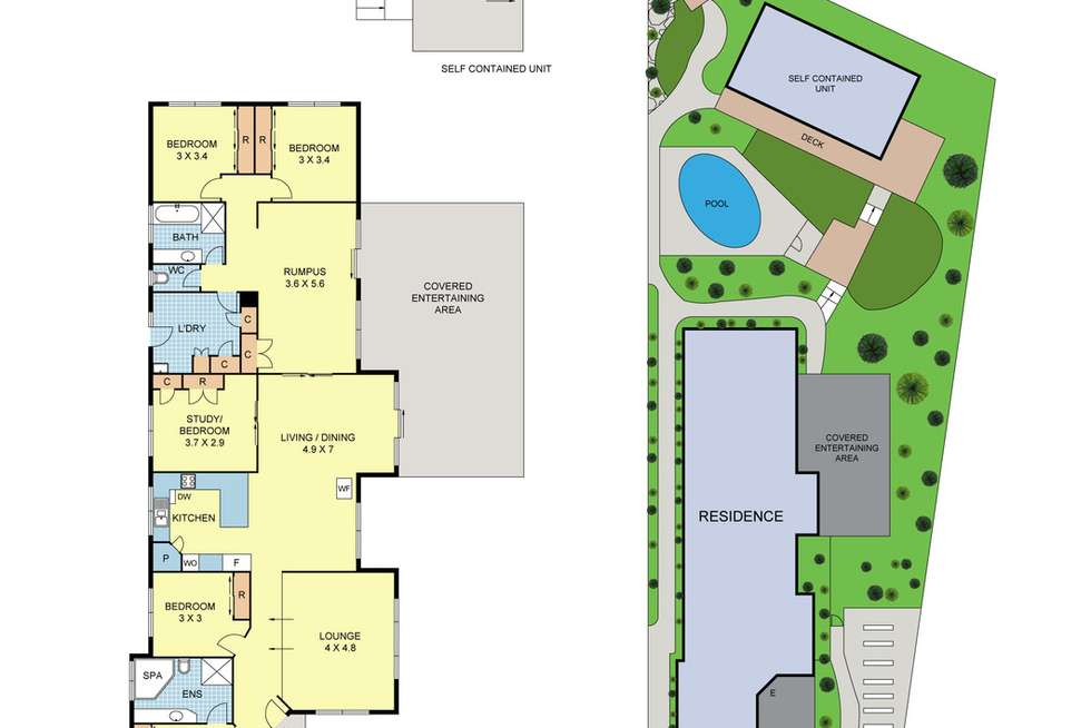 Floorplan of Homely house listing, 22 Clarkedale Rise, Kilsyth South VIC 3137