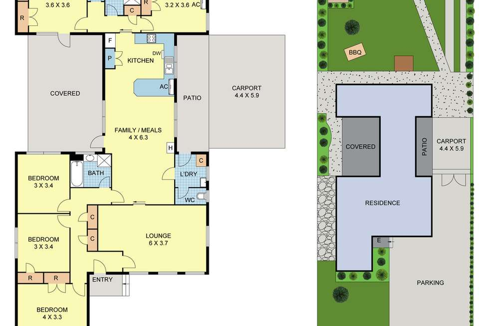 Floorplan of Homely house listing, 26 Bronwyn Street, Coldstream VIC 3770