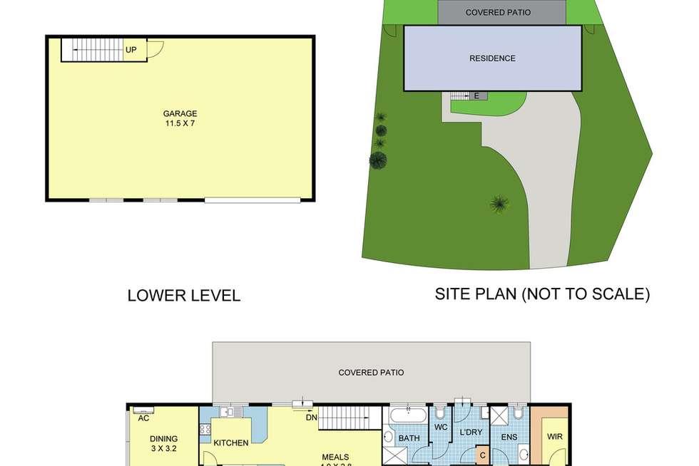 Floorplan of Homely house listing, 26 Eileen Grove, Woori Yallock VIC 3139