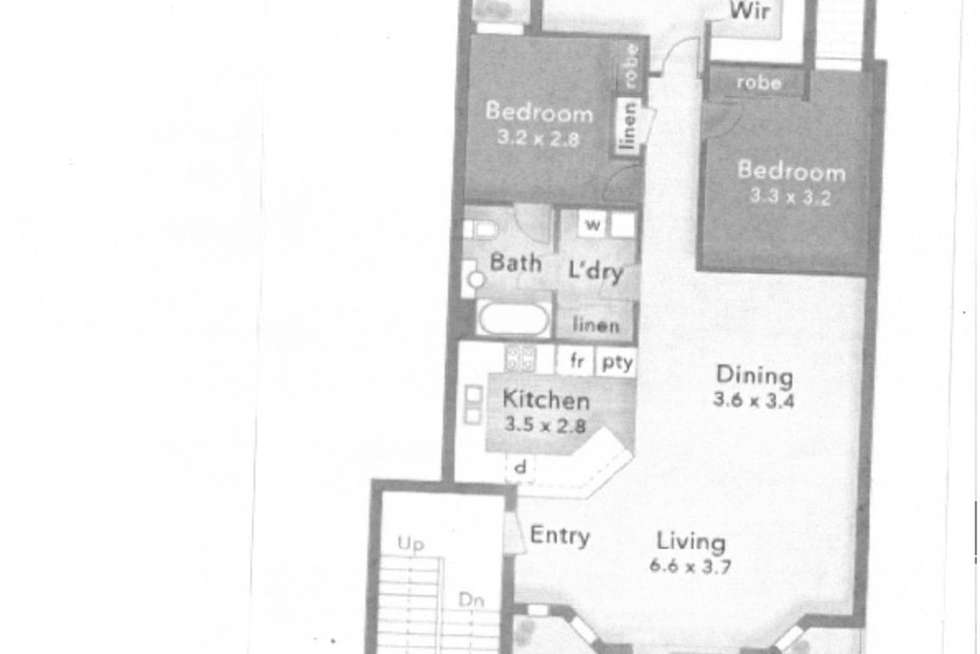 Floorplan of Homely apartment listing, 19/53 Bauer Street, Southport QLD 4215