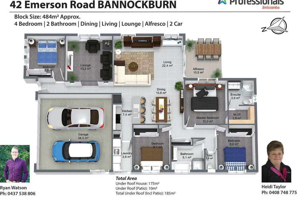 Floorplan of Homely house listing, 42 Emerson Road, Bannockburn QLD 4207