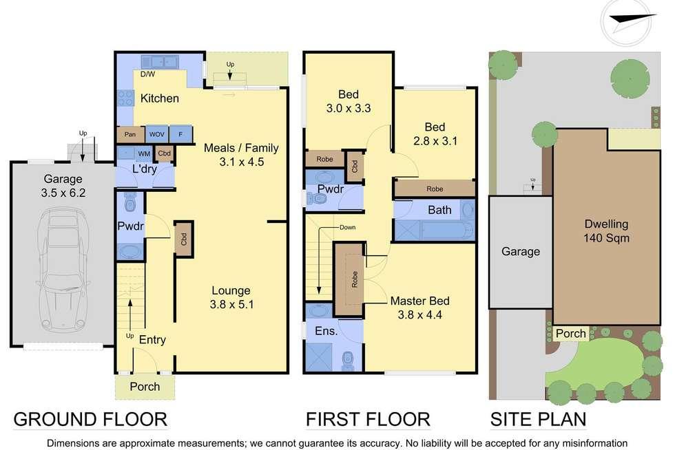 Floorplan of Homely unit listing, 1/2 Station Street, Mooroolbark VIC 3138